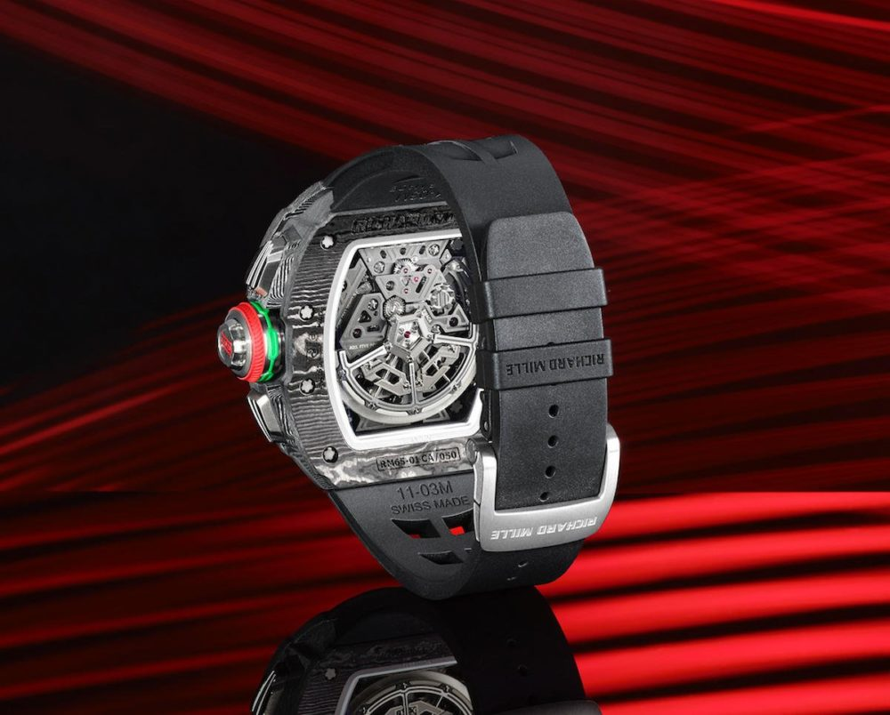 Introducing Richard Mille's RM 65-01 Automatic Split Seconds Chronograph