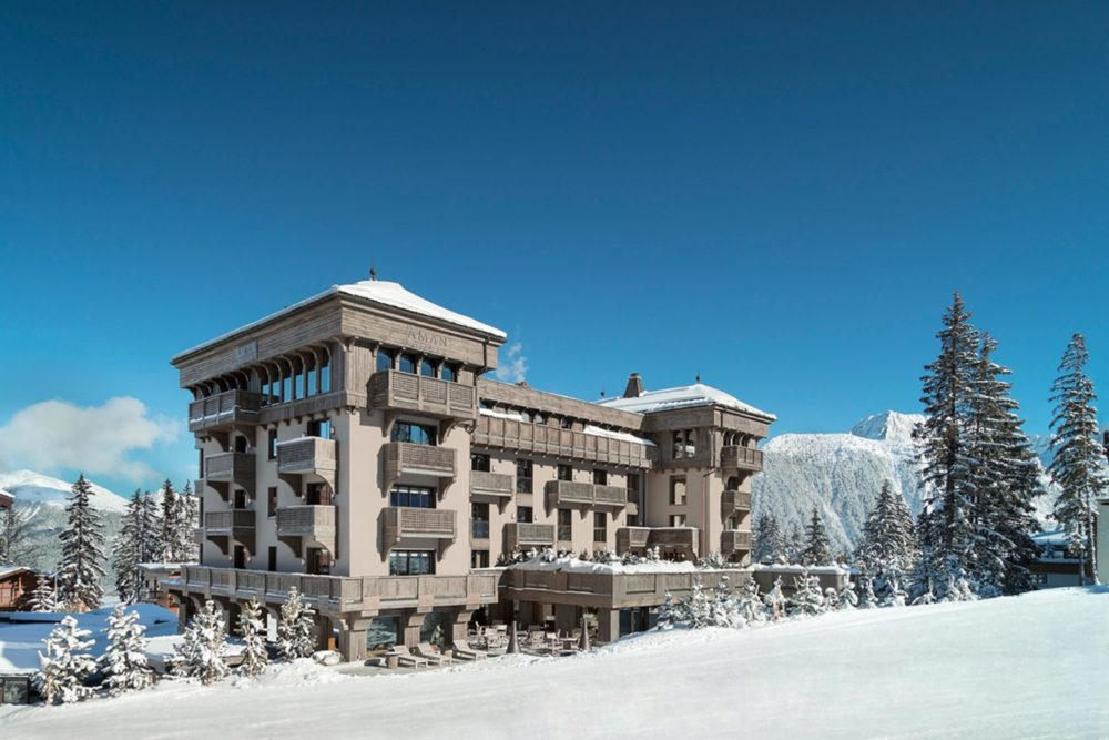 A château to call home, Aman Le Mélézin, Courchevel 1850