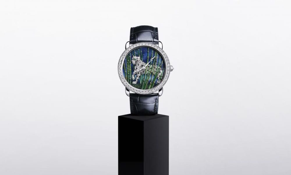 The Cartier Métiers D'art, two new reinterpretations of the panther for 2020
