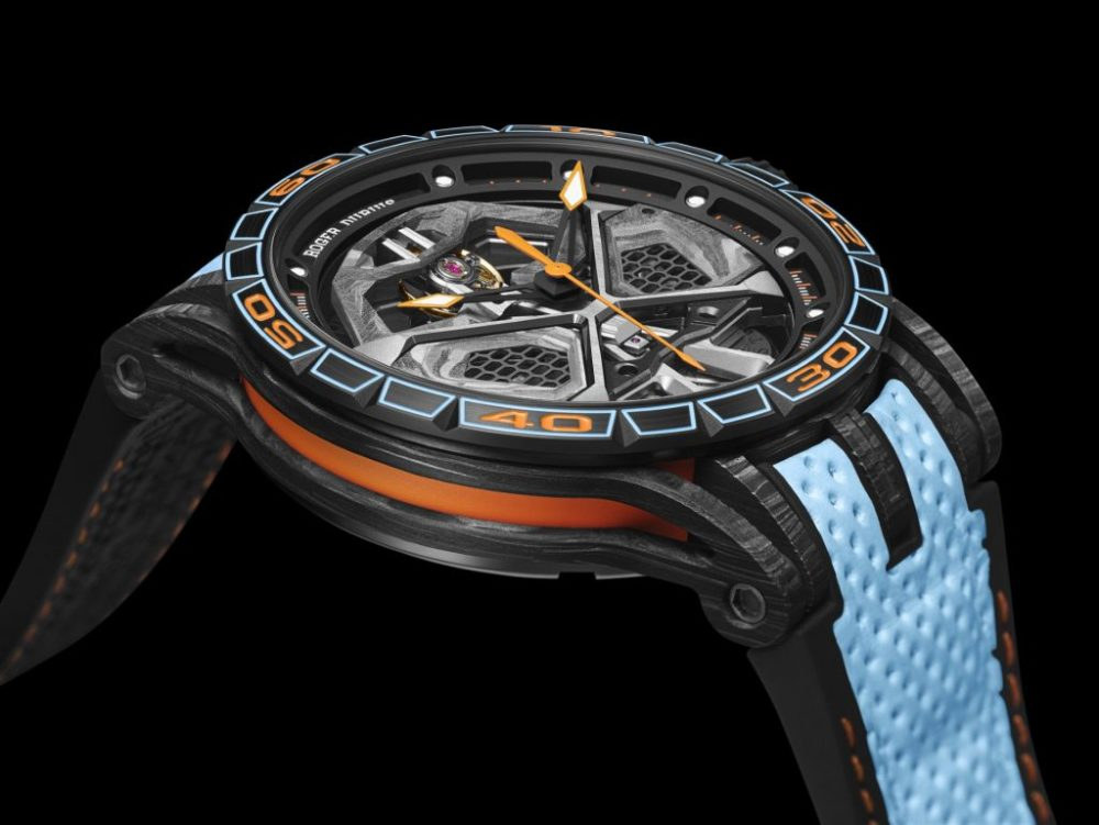 Roger Dubuis presents the beat of hyper horology, Excalibur Huracán STO
