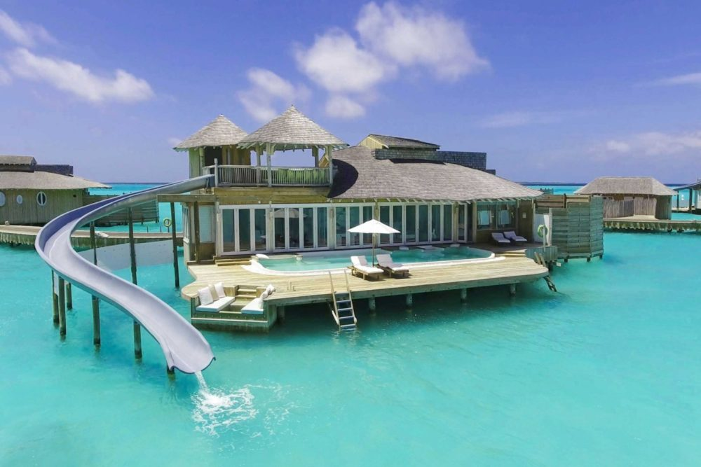 Soneva Jani's Private Residences, overwater and beachfront Island Residences