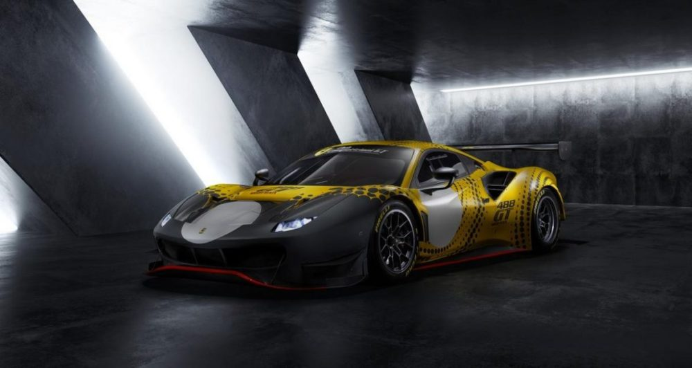 2021 Ferrari 488 GT Modificata is a limited edition race-only car
