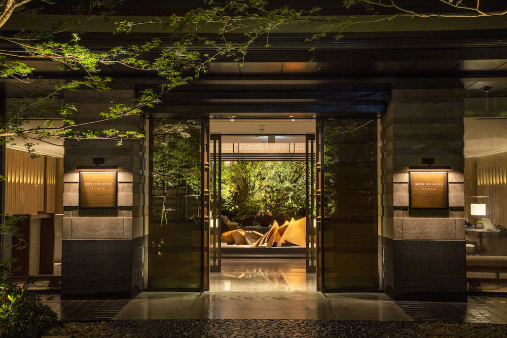 Hotel The Mitsui Kyoto is embracing Japan's cultural beauty