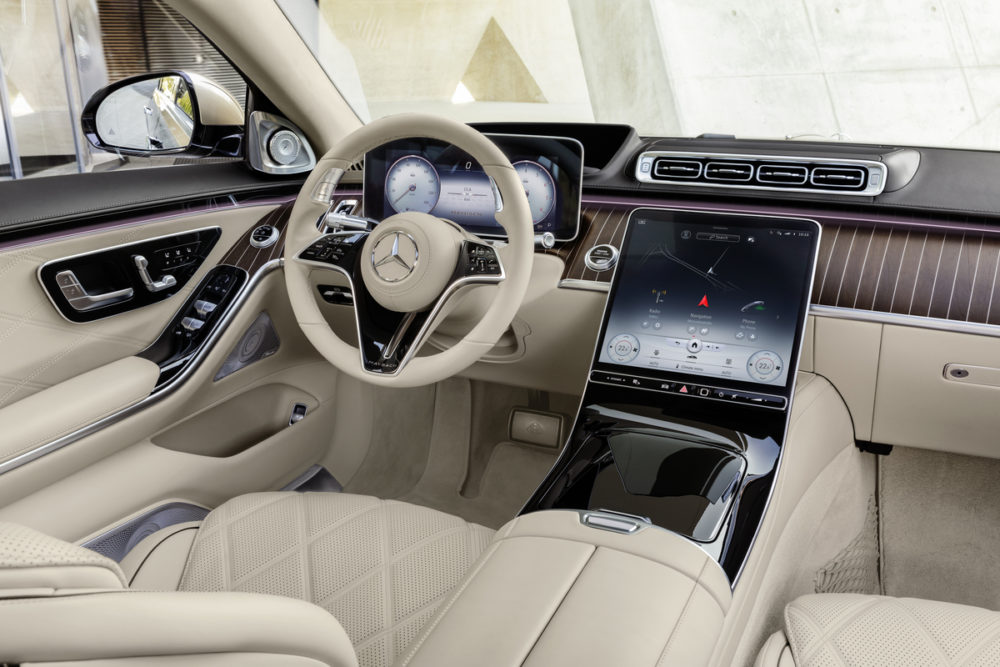 The new Mercedes-Maybach S-Class is designed for a chauffeured driven experience