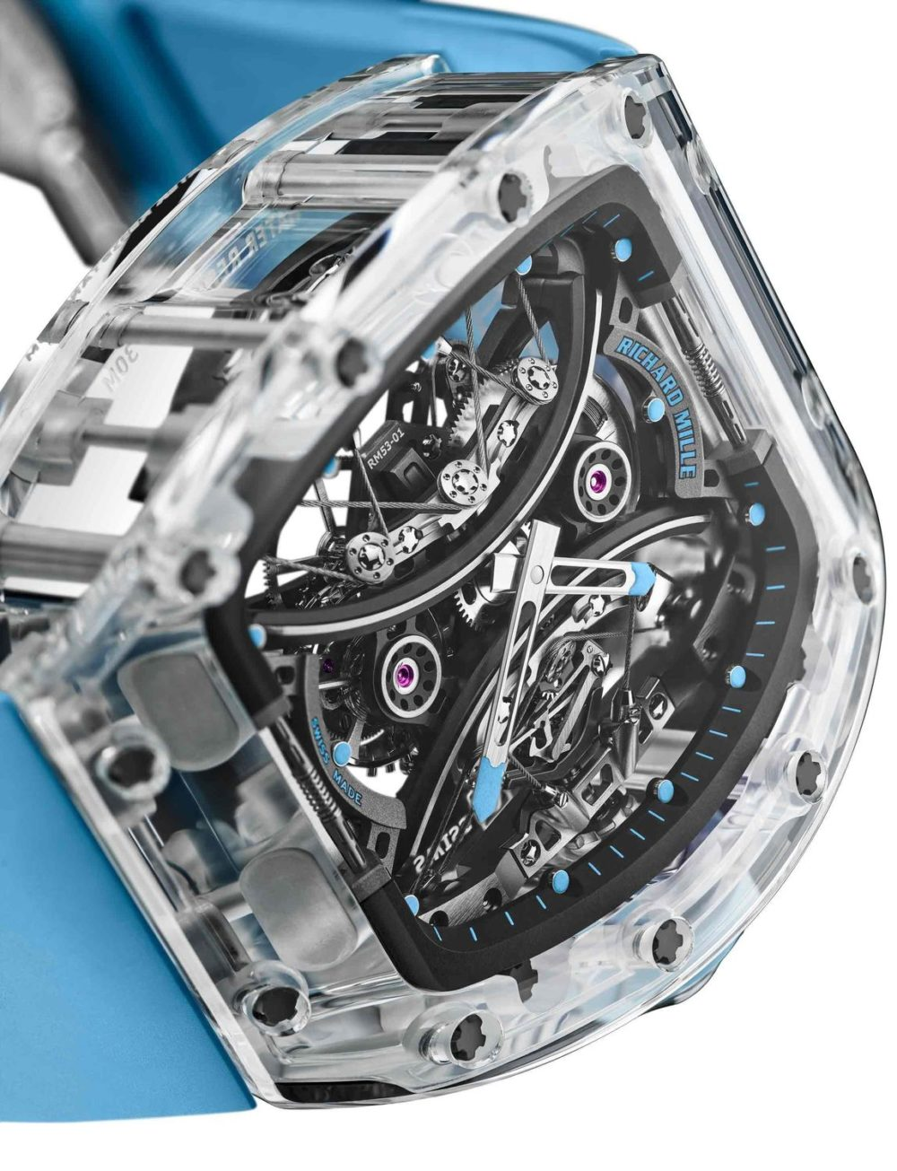Richard Mille's RM 53-02 Tourbillon Sapphire is the ultimate expression of transparency