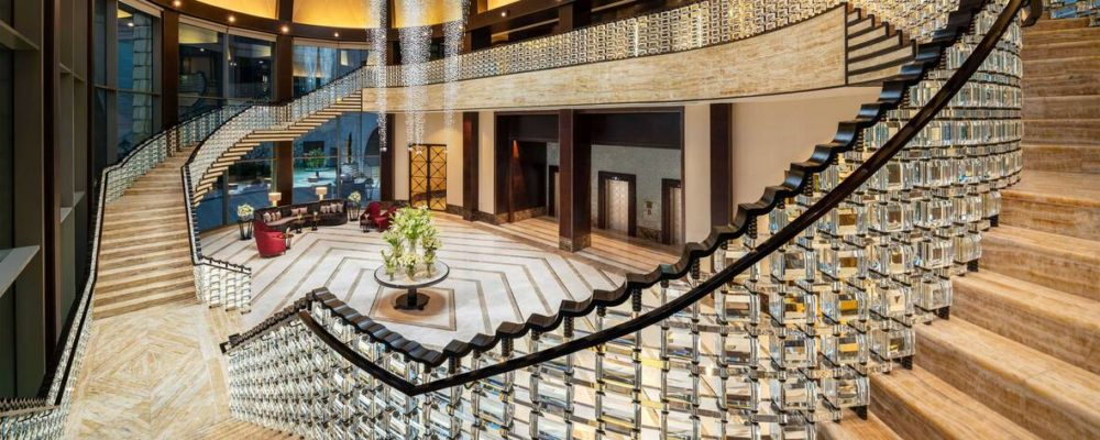 Indulge in modern Egyptian glamour at the new St. Regis Cairo