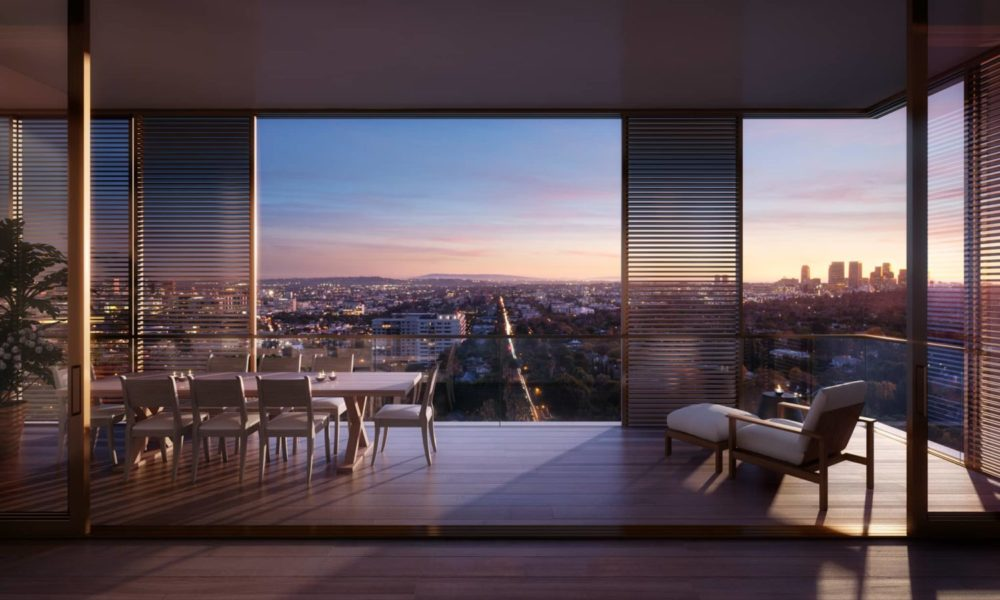 The Residences at The West Hollywood EDITION, designed by John Pawson