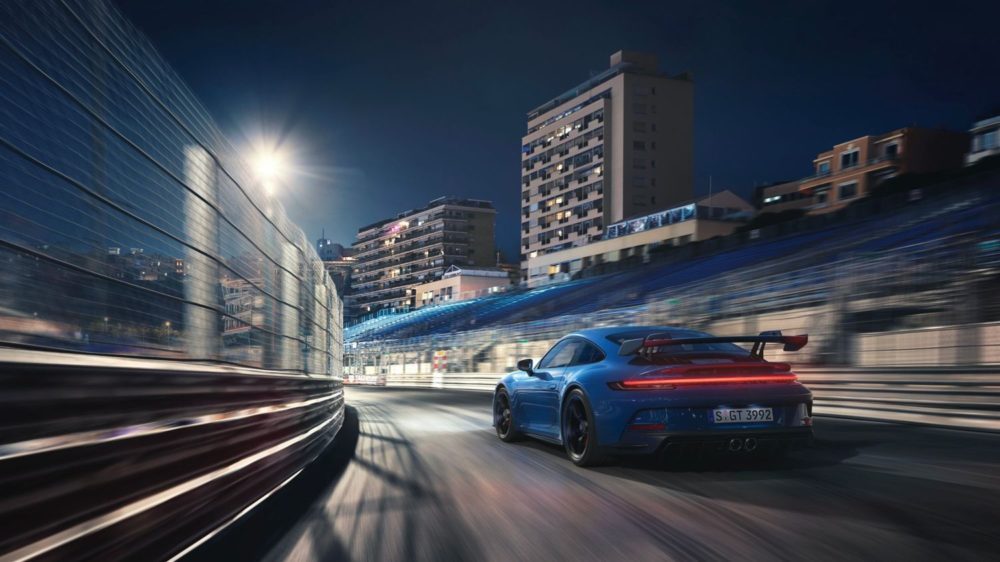 The 2022 Porsche 911 GT3 transfers pure racing technology into a production model