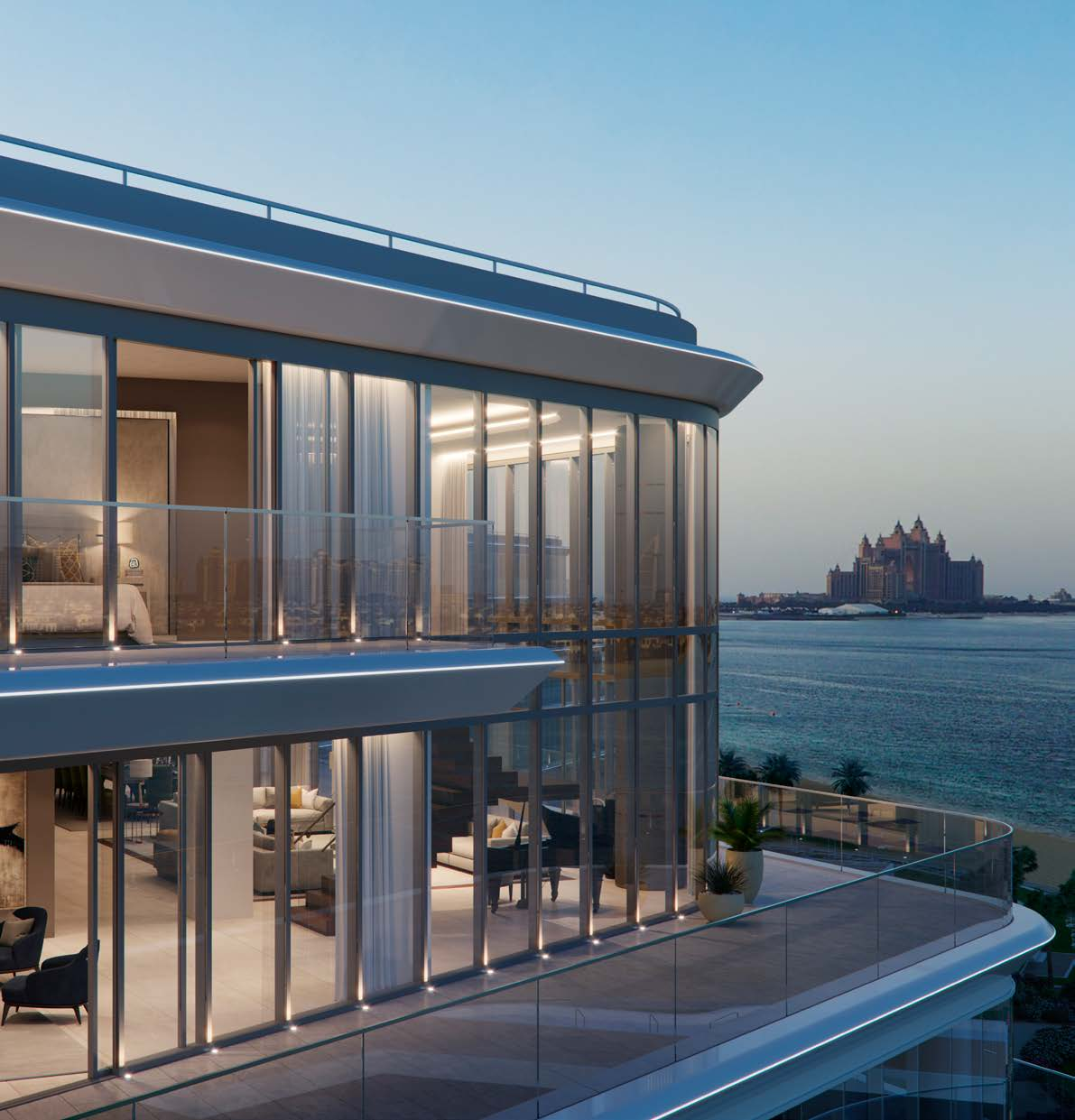 W Residences Dubai—exclusive waterfront living at the Palm