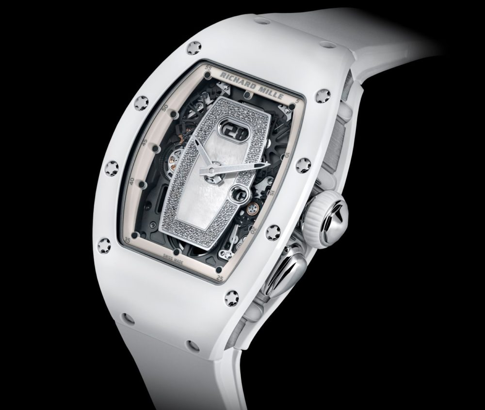 Richard Mille: The New RM 037 White Ceramic Automatic