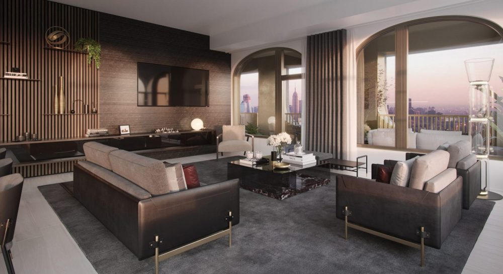 130 William, New York private residences are designed not only to be seen, but to be felt