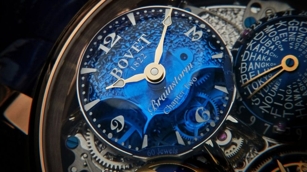 Bovet Récital 26 Brainstorm Chapter Two is now available in 18k Red Gold