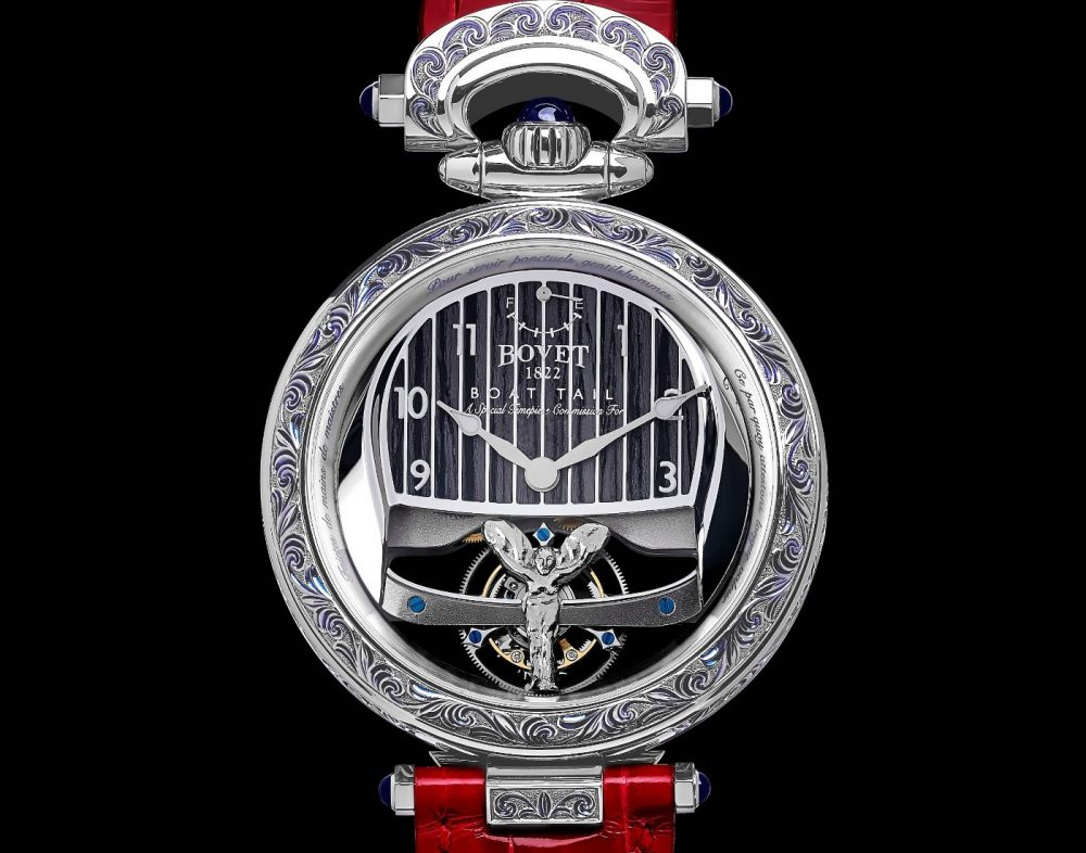 Bovet 1822 and Rolls-Royce — a unique collaboration for an iconic centerpiece