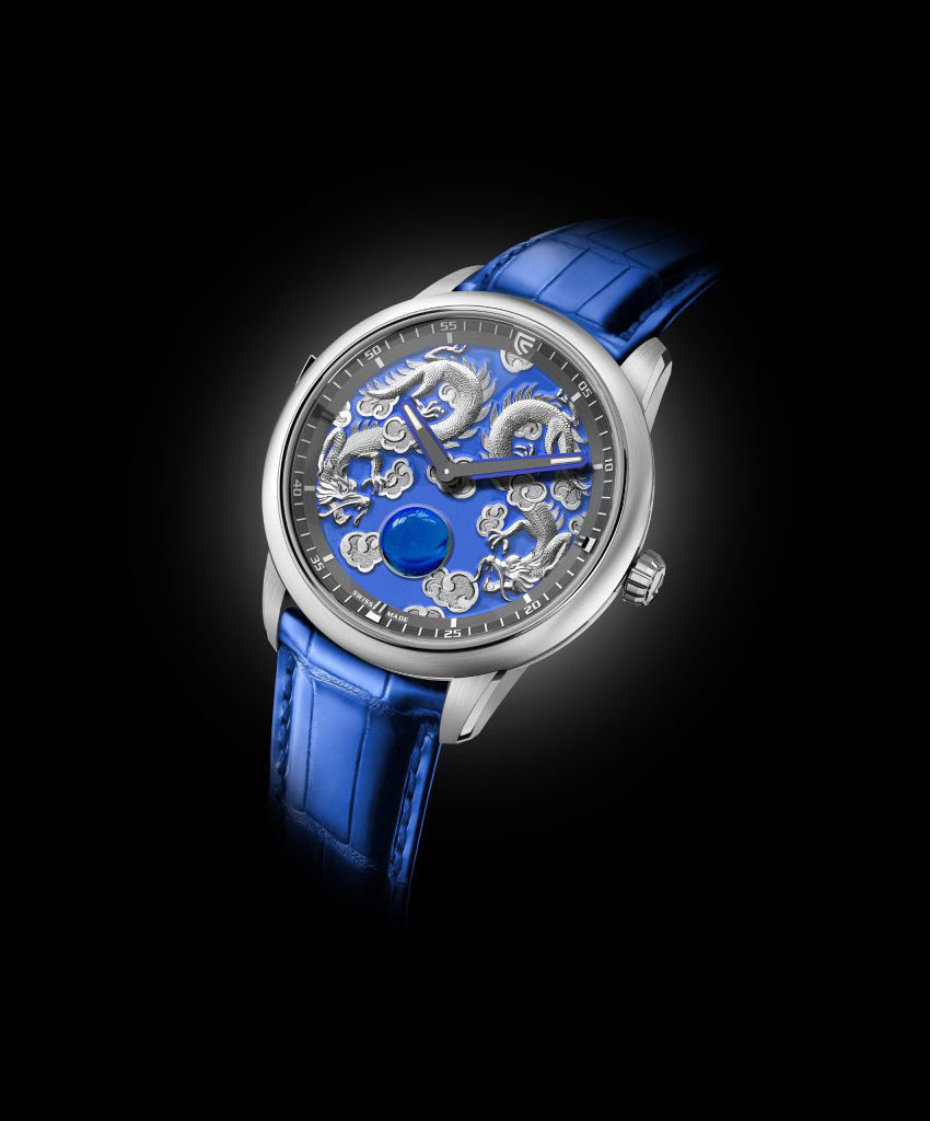 Concertino Dragon, a new striking timepiece from Christophe Claret