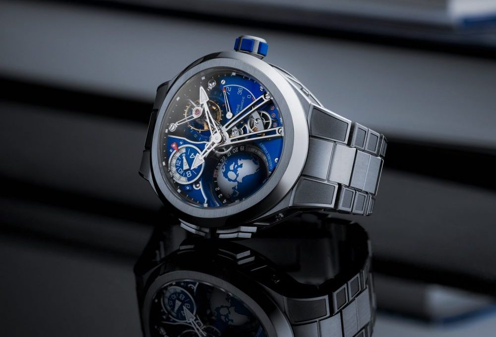 Greubel Forsey introduces a new GMT Sport with an integrated metal bracelet