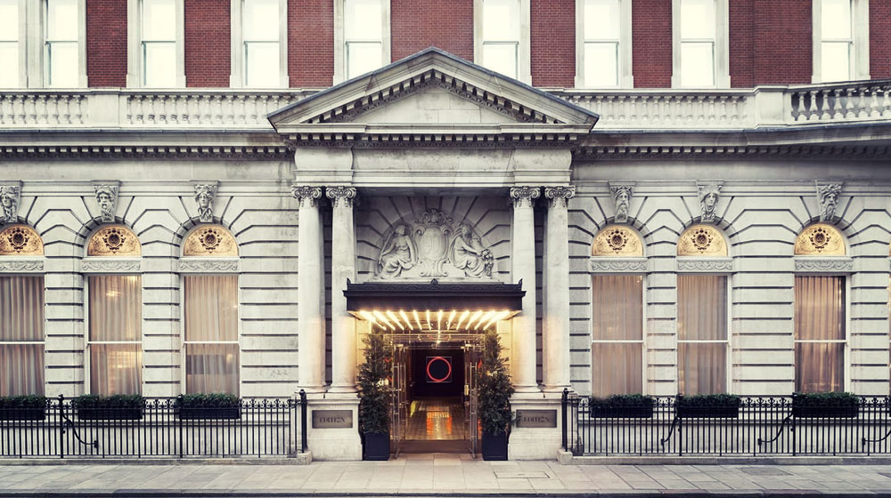 London Guide, Where to Stay, The London EDITION, Soho