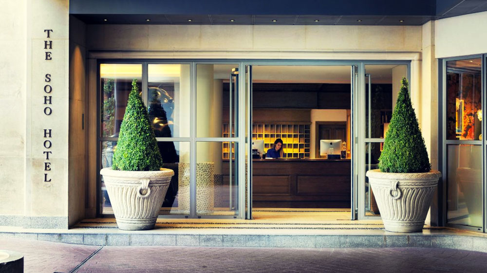 London Guide, Where to Stay, The Soho Hotel