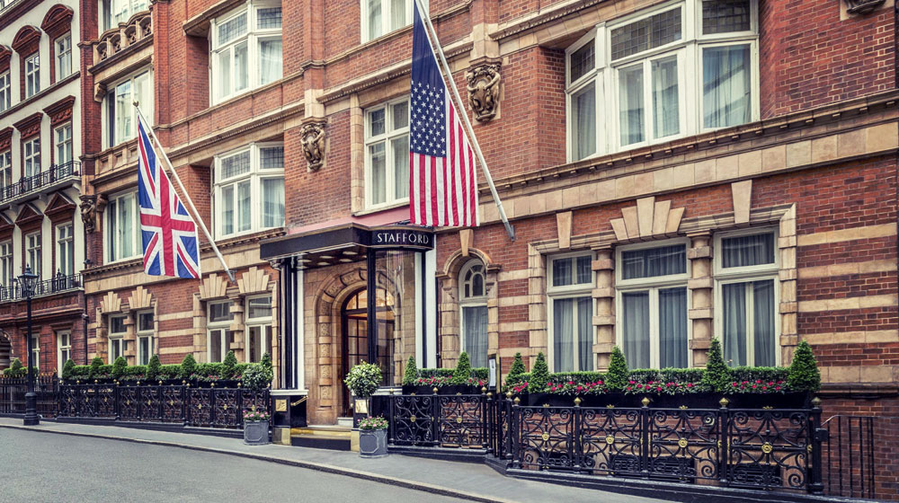 London Guide, Where to Stay, The Stafford London, St James's