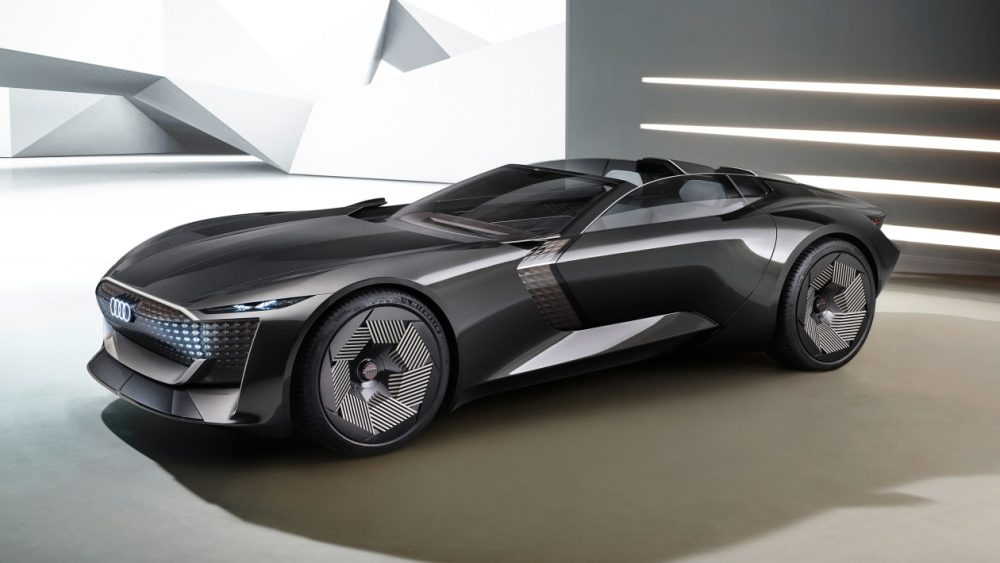 Audi is transforming the vehicle into a platform for captivating experiences with the Skysphere concept