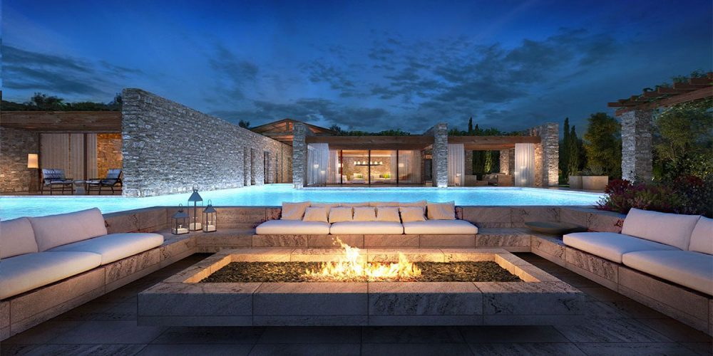 Costa Navarino Residences is one of the most exclusive collections of luxury villas in Greece