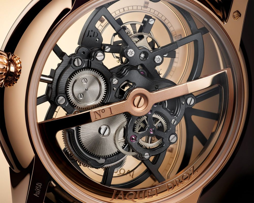 The Grande Seconde Skelet-One Tourbillon by Jaquet Droz paves the way for a new artistic horizon