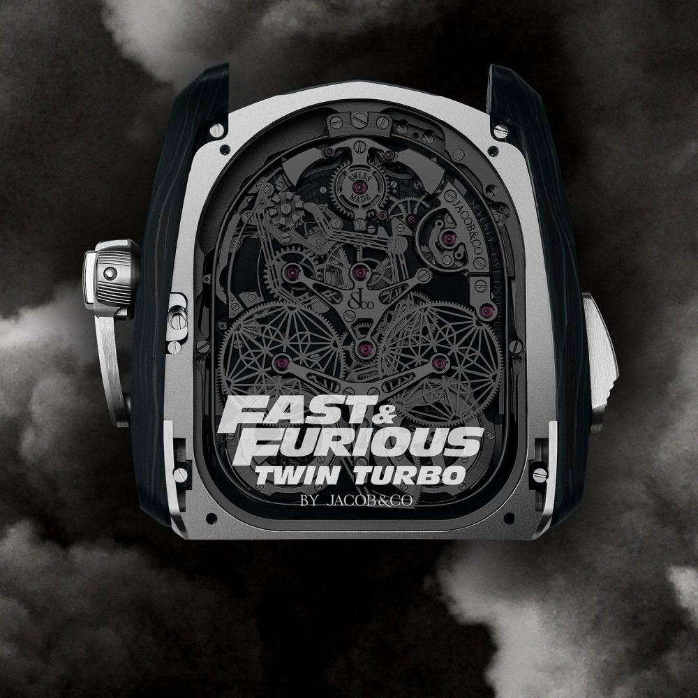 The Fast & Furious Twin Turbo is yet another groundbreaking Jacob & Co. creation
