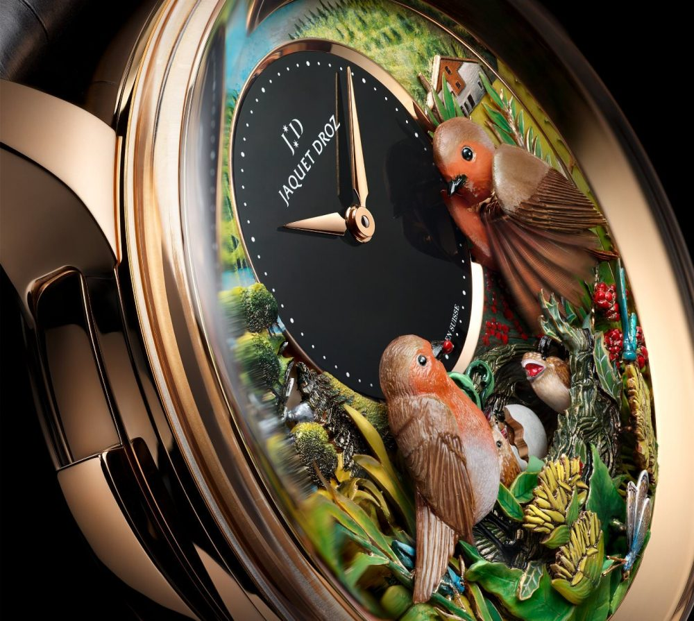 Jaquet Droz celebrates the 300th Anniversary of its founder with a limited edition of the Bird Repeater