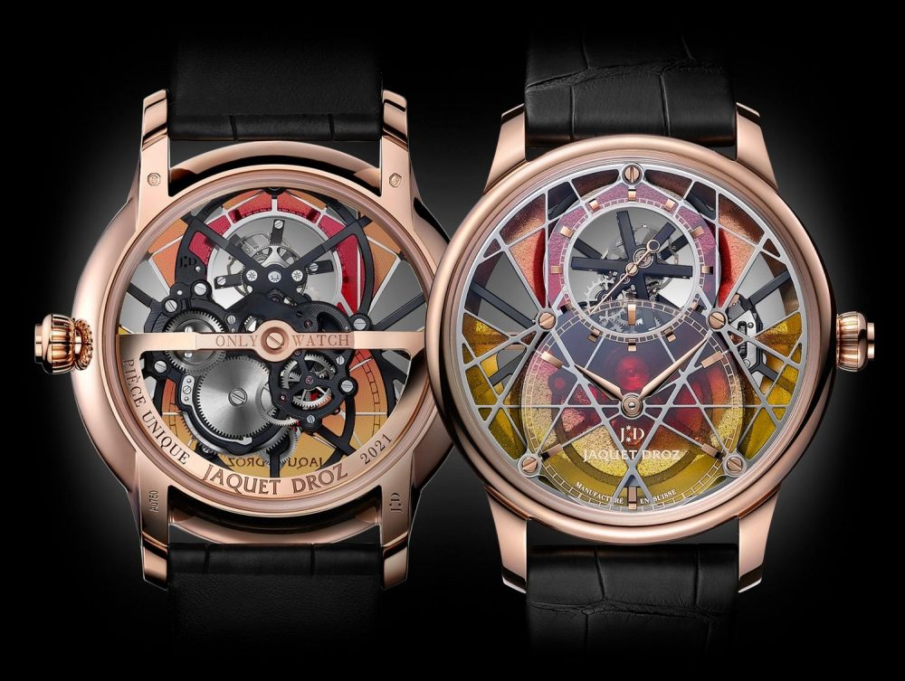 Jaquet-Droz's Grande Seconde Skelet-One Tourbillon, Only Watch 2021 is an exceptional piece