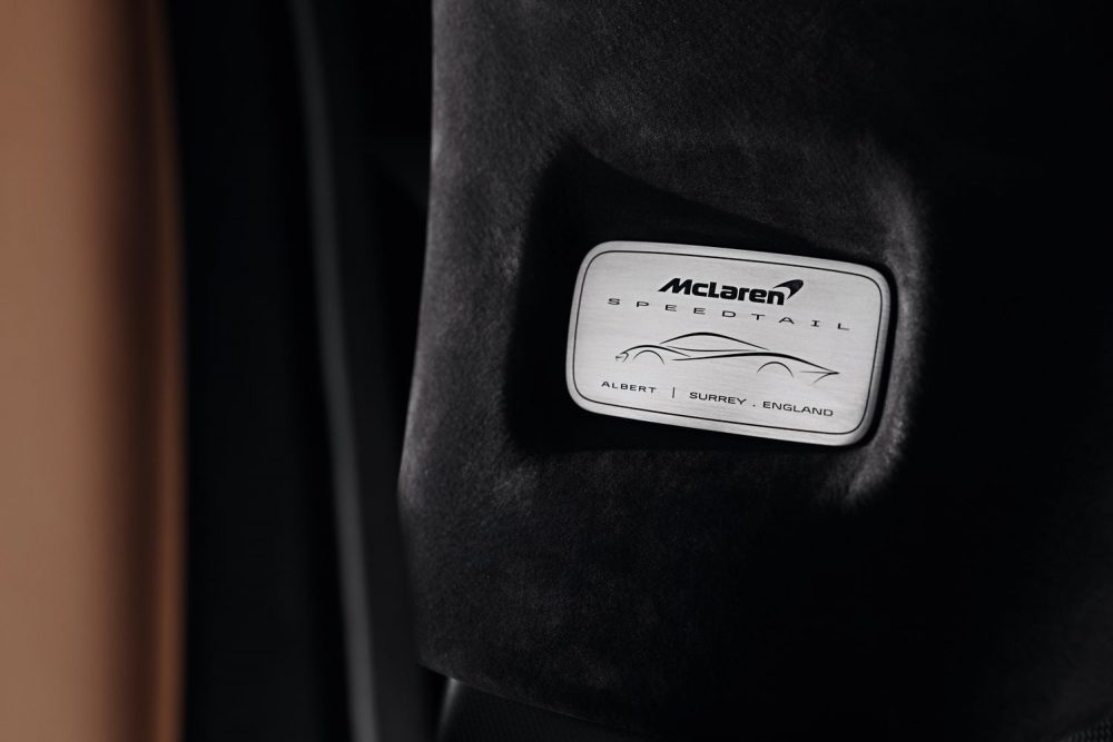 McLaren Special Operations (MSO) unveils the 'Albert' Speedtail, a bespoke commission by McLaren Beverly Hills