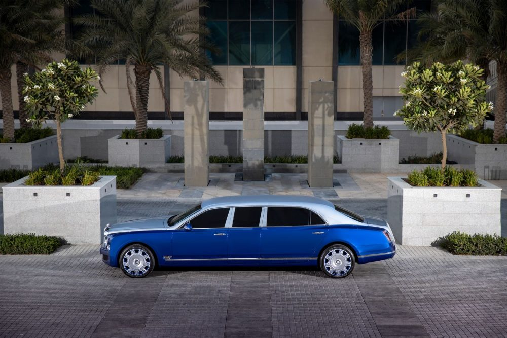 The Mulsanne Grand Limousine by Mulliner is your chance to own the ultimate luxury four-door