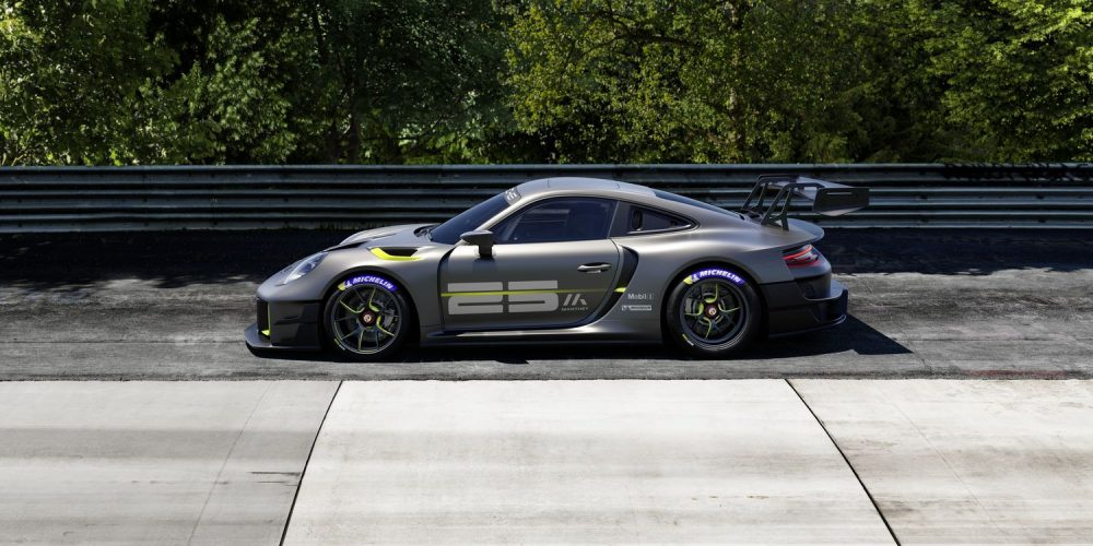The 2022 Porsche 911 GT2 RS Clubsport 25 is a limited edition racing car for exclusive circuit outings