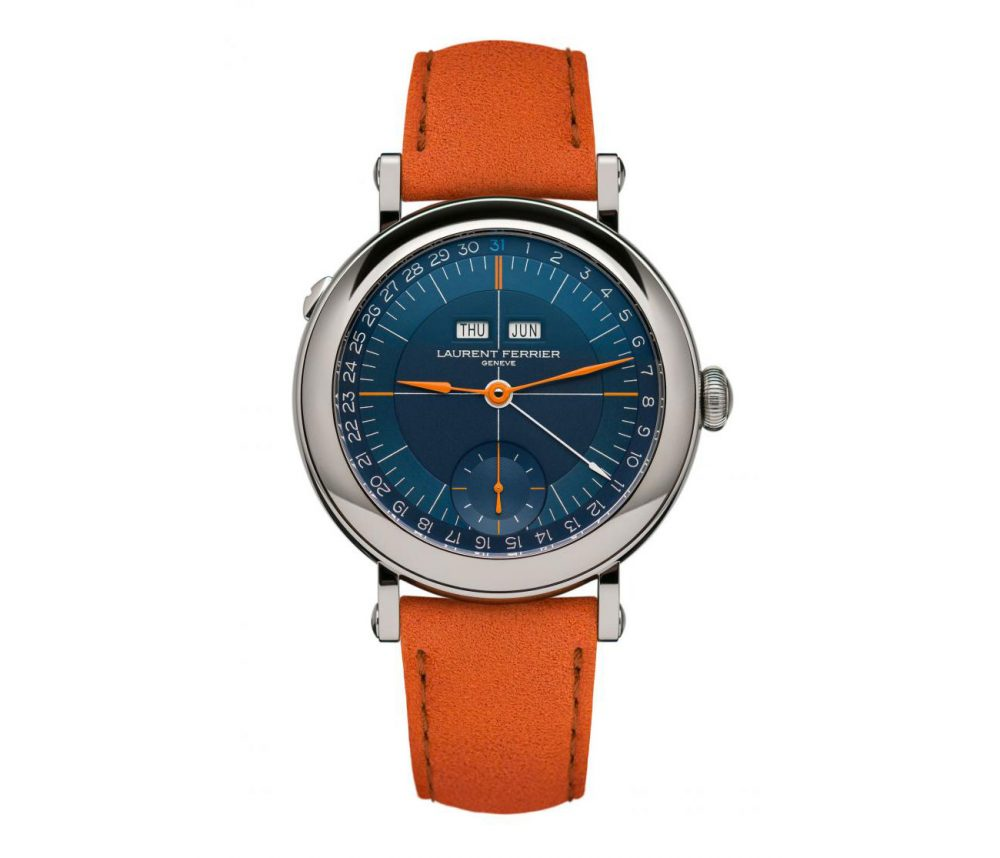 LaurentFerrier's École Annual Calendar Navy offers a contemporary and sporting appearance