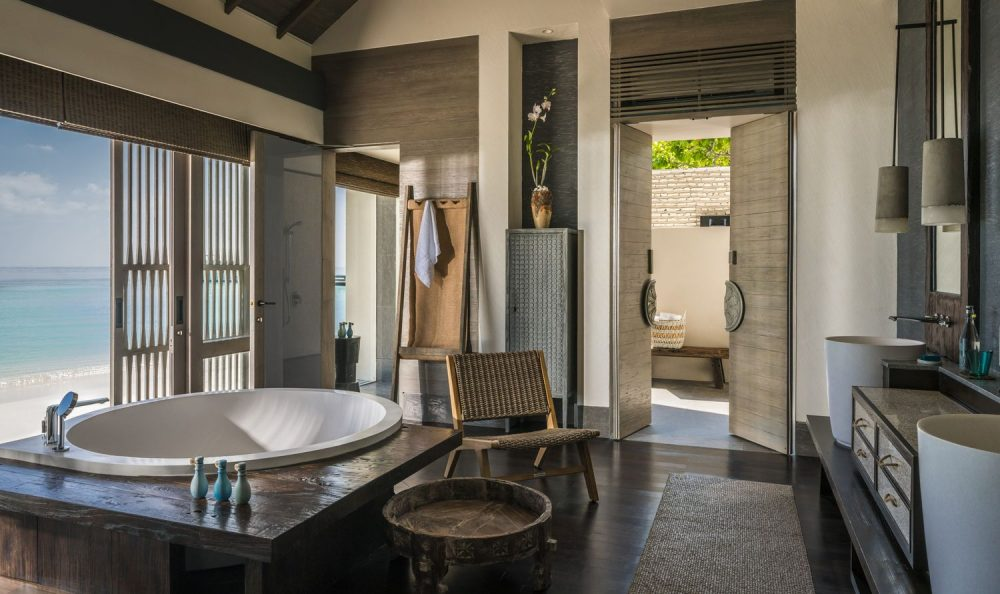 Four Seasons Private Island, Voavah, is Maldives' only UNESCO World Biosphere Reserve