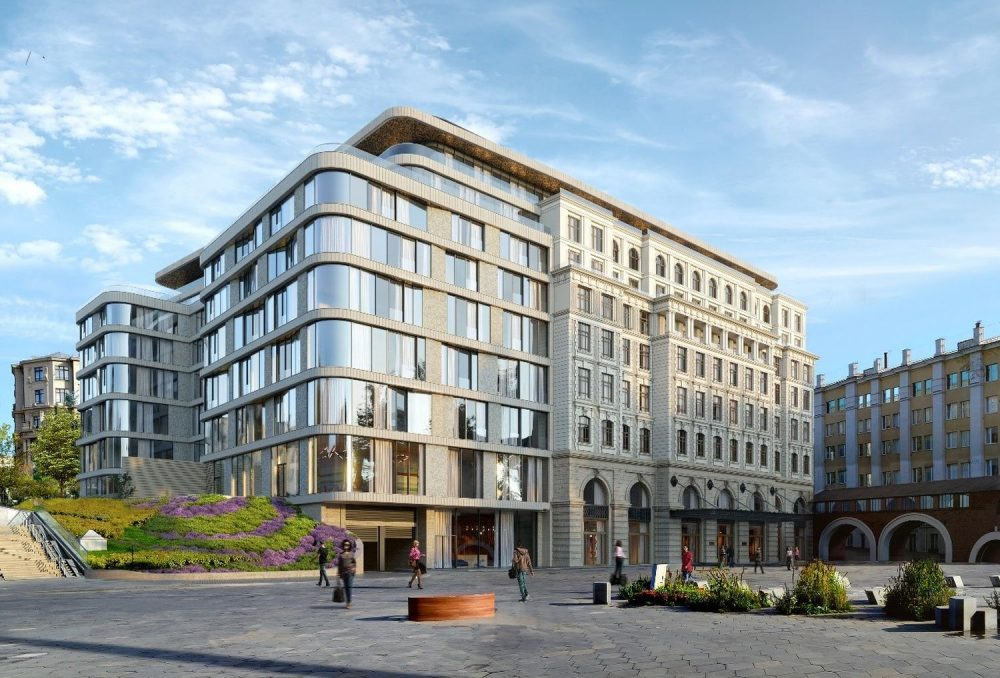 Set to open in the second half of 2022, Raffles hotel will be located in an iconic address in Moscow