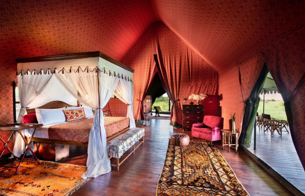 Jack's Camp in Botswana pays homage to the property's enduring and much-loved 1940s campaign style
