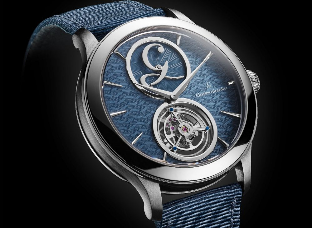 Introducing the Charles Girardier 1809 Cobalt Blue 41 Mm